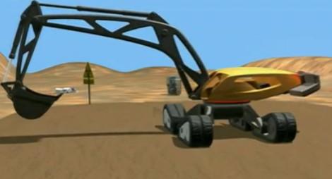 沃尔沃概念挖掘机介绍视频